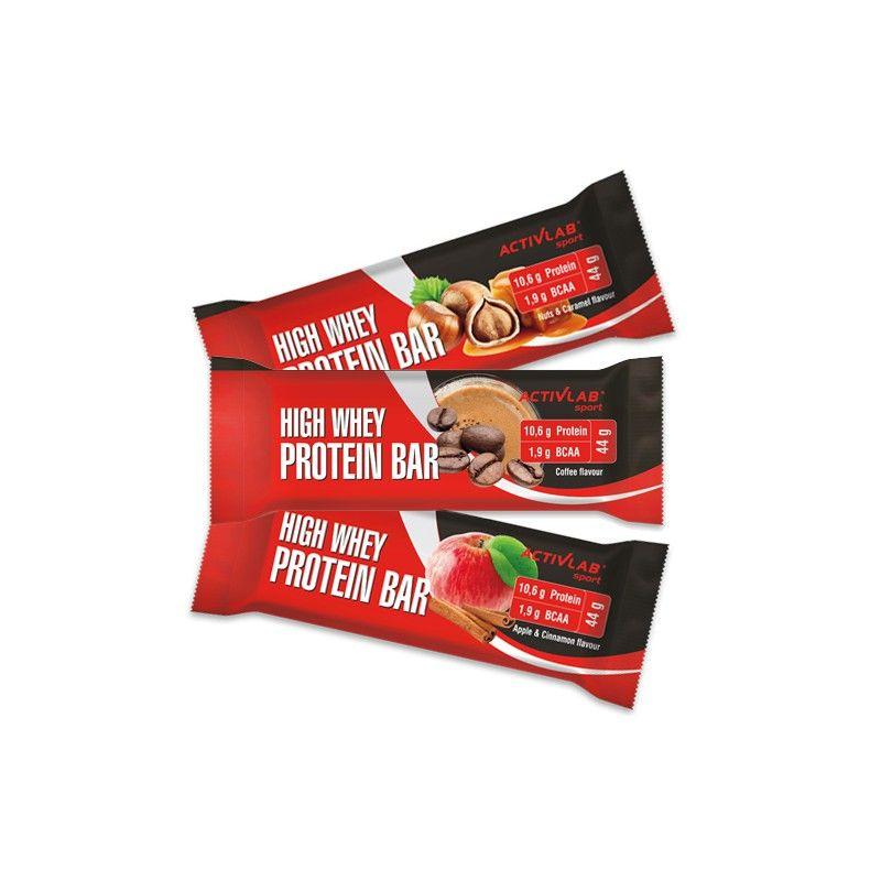 ActivLab High Whey Protein Bar 44 g jablko škorica