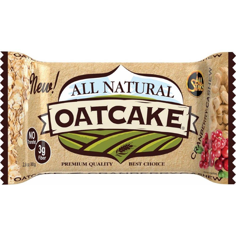 All Stars All Natural Oatcake 80 g arašidové maslo s kúskami čokolády