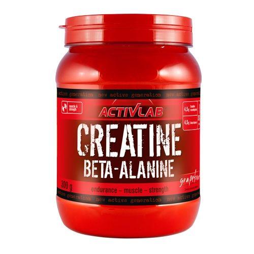 ActivLab Creatine Beta Alanine 300 g citrón