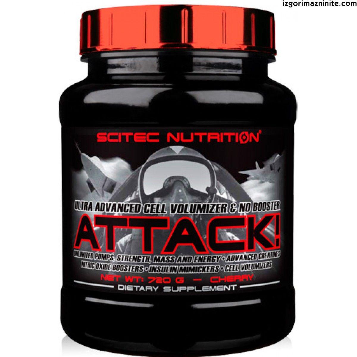 Scitec Nutrition ATTACK 2.0 720 g cherry