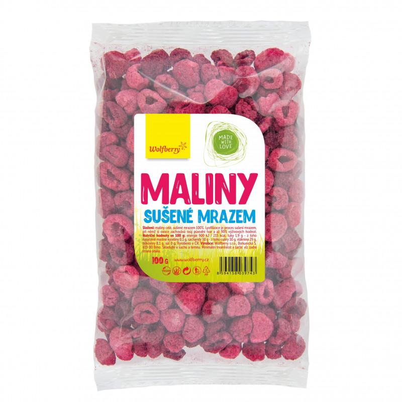 Maliny lyofilizované - Wolfberry
