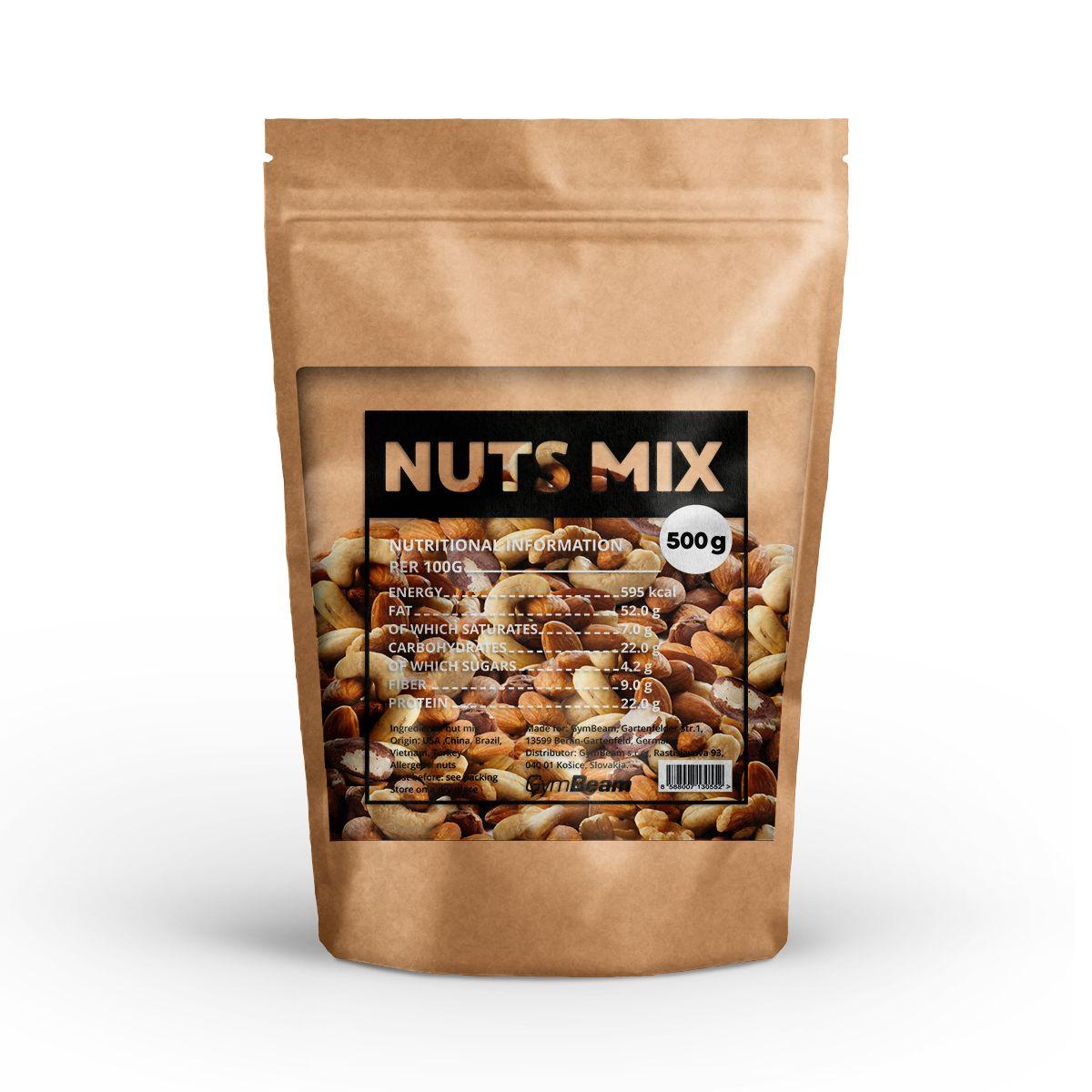 Mix přírodních ořechů - GymBeam