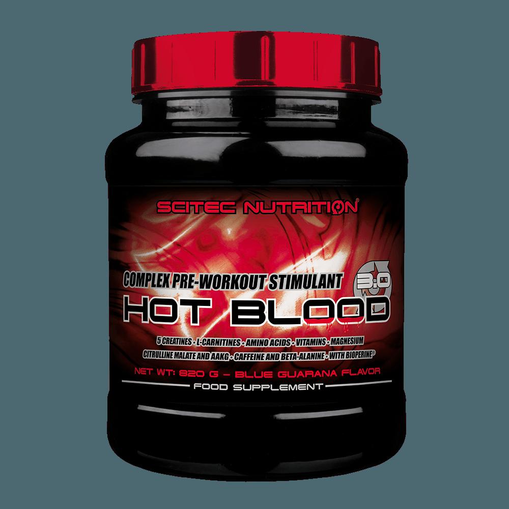 Scitec Nutrition Hot Blood 3.0 820 g ružová limonáda
