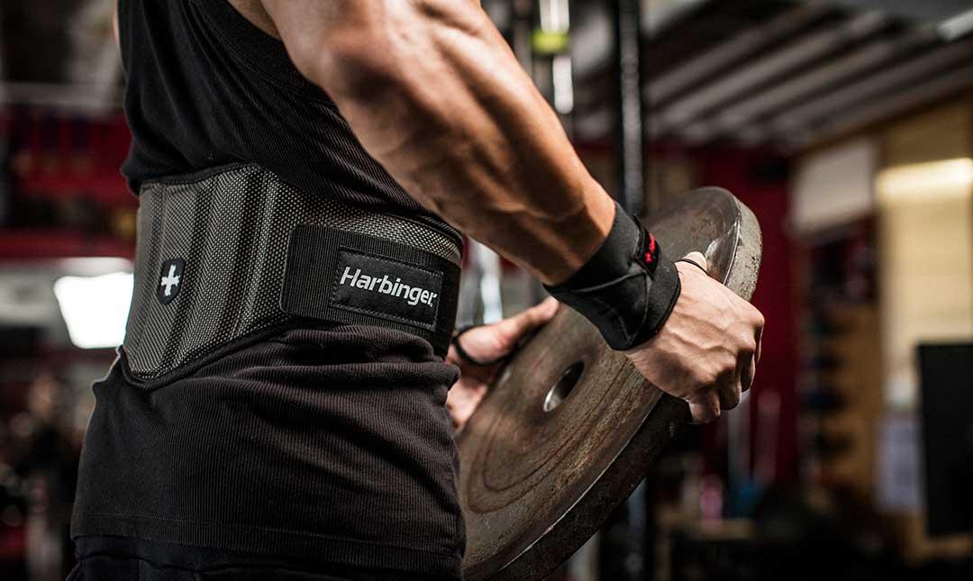 Fitness opasok Firm Fit Black - Harbinger