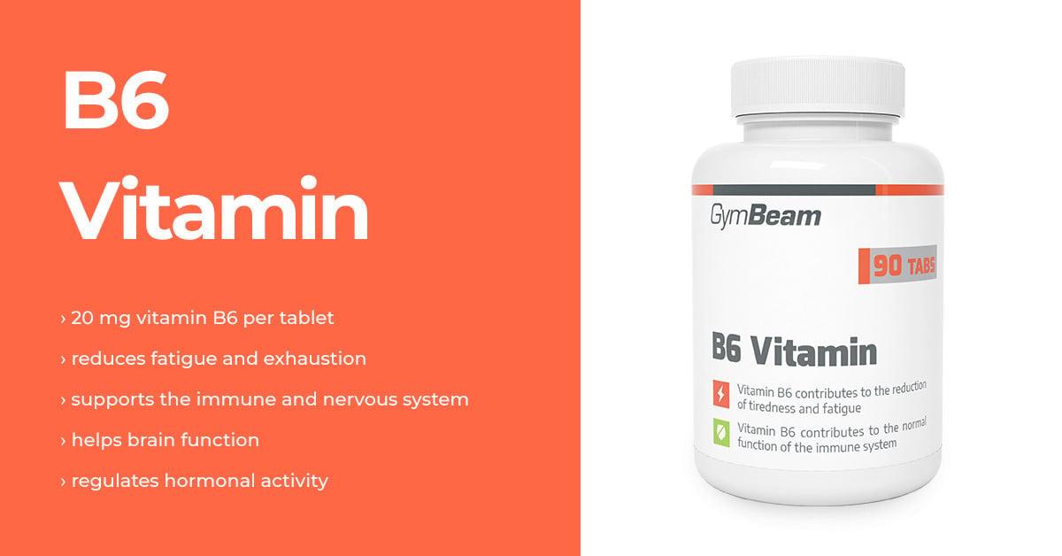Vitamin B6 - GymBeam