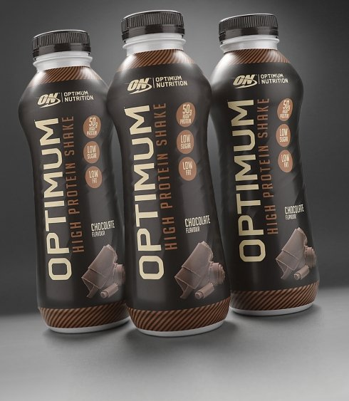 Optimum High Protein Shake - Optimum Nutrition