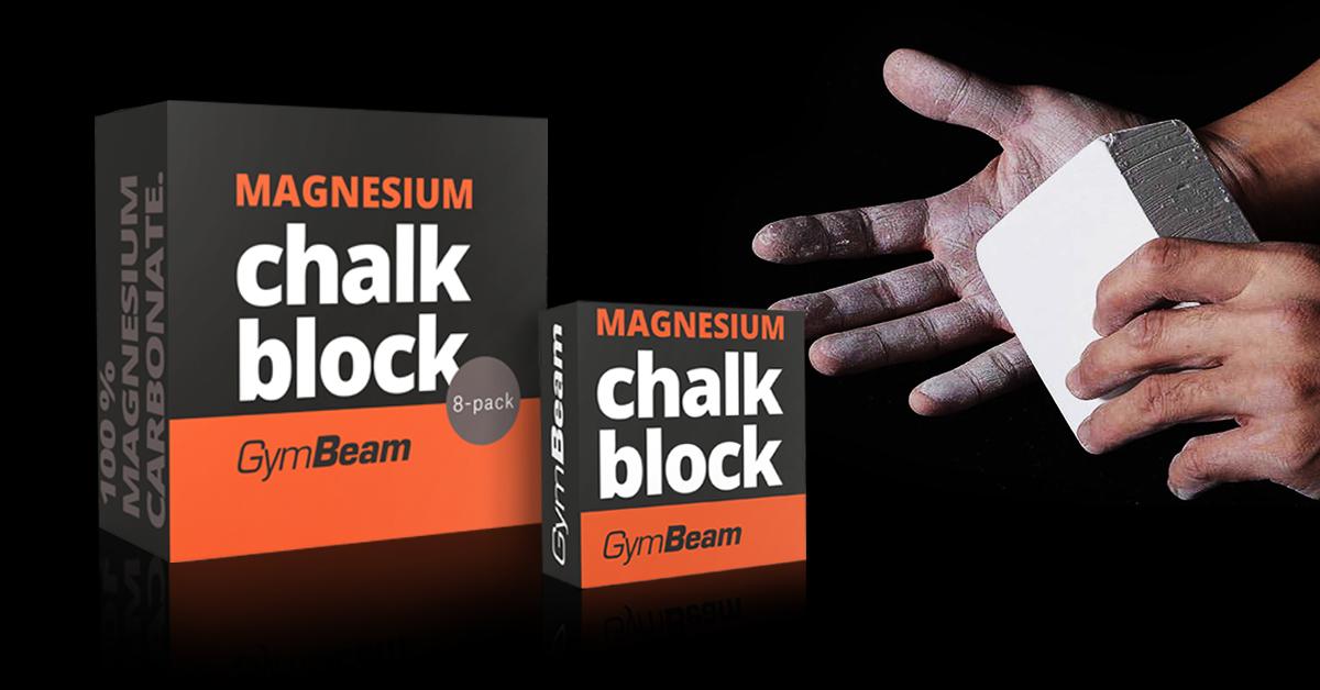 Křída Magnesium Block - GymBeam