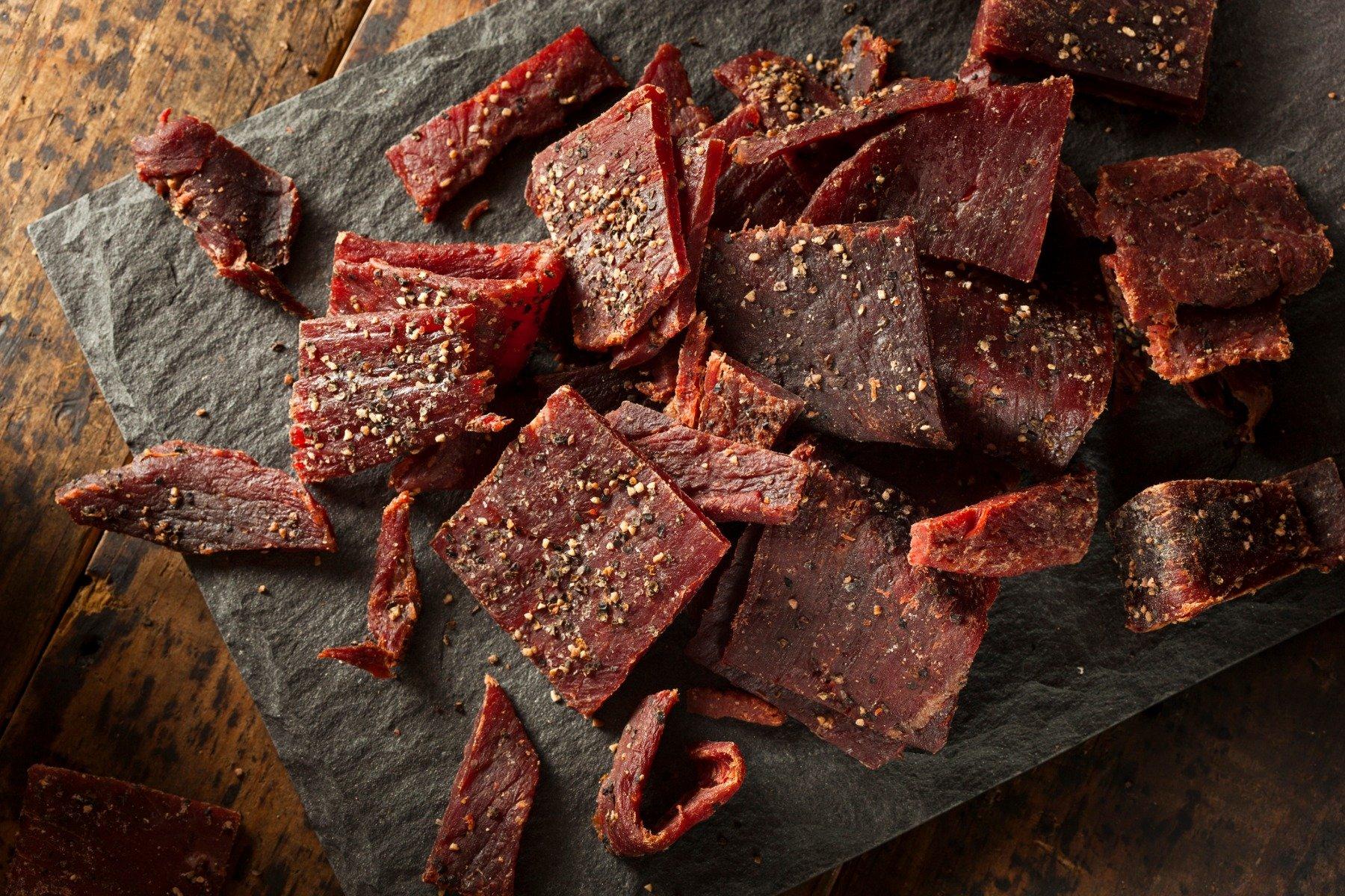 Sušené hovädzie mäso Beef Jerky