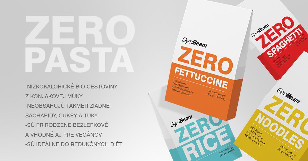 BIO Zero Fettuccine 385 g – GymBeam