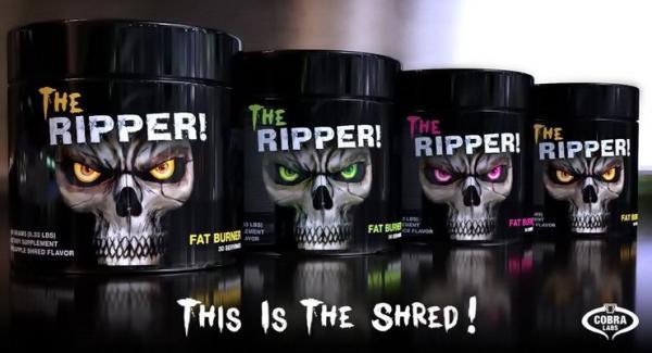 the ripper cobra labs extrémen erős zsírégető