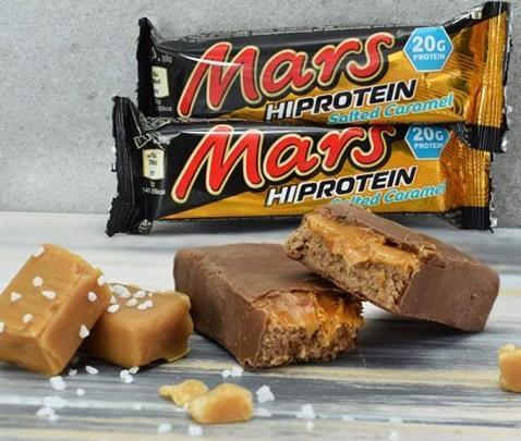 Mars Hi-Protein Salted Caramel fehérjeszelet - Mars