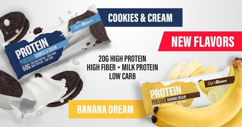 Proteínová tyčinka PureBar - GymBeam