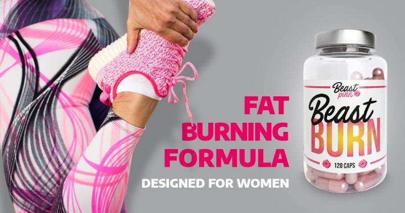 Spalovač tuků Beast Burn - Beast Pink - GymBeam