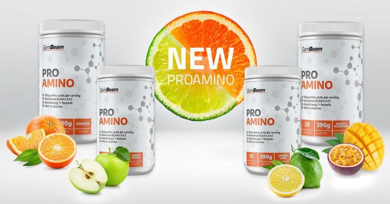 ProAMINO - aminokyseliny - Gymbeam