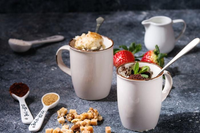Proteínový Mug Cake Mix 500 g - GymBeam