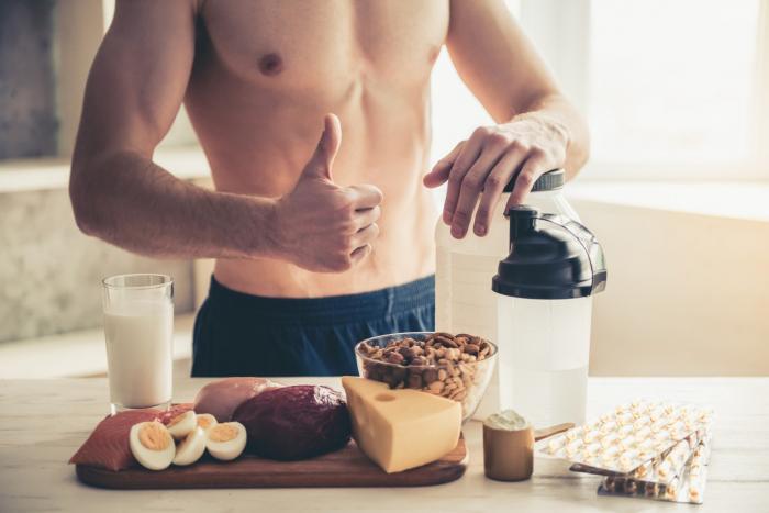 hyperproteic diéta sportolók számára