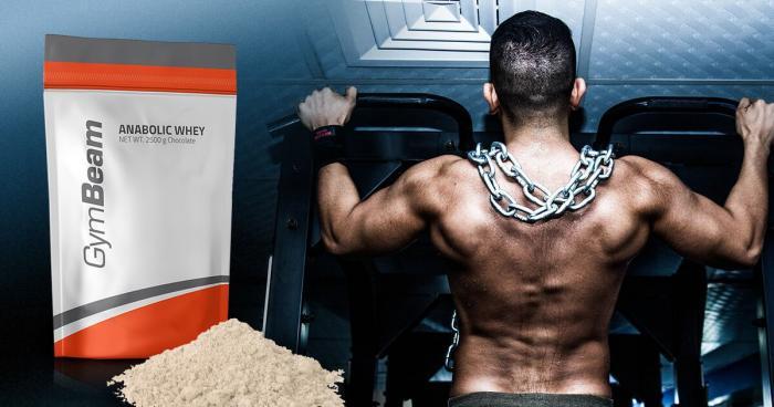 Proteine Anabolic Whey - GymBeam