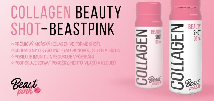 Collagen Beauty Shot - BeastPink