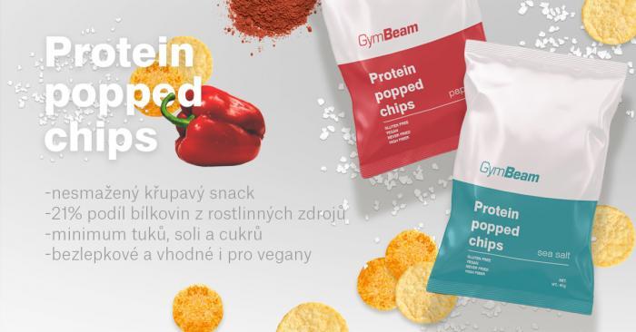 Proteinové čipsy - GymBeam