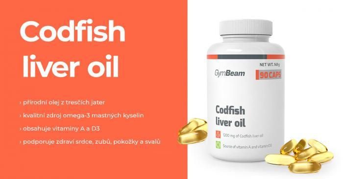Codfish liver oil - GymBeam