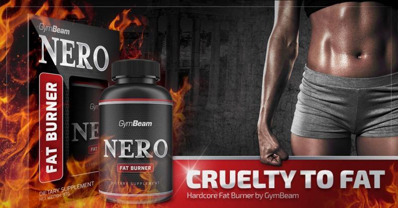 Silný spaľovač tukov Nero gymbeam