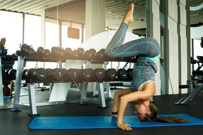Podložka na cvičenie Yoga Mat Blue - gymbeam