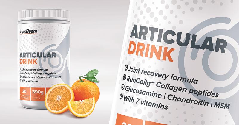 articular drink Gymbeam - kĺbová výživa