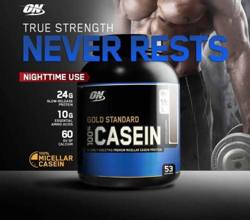 Casein 100% optimum nutrition