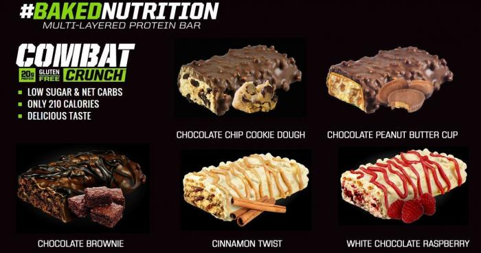 Bezlepková proteinová tyčinka Crunch