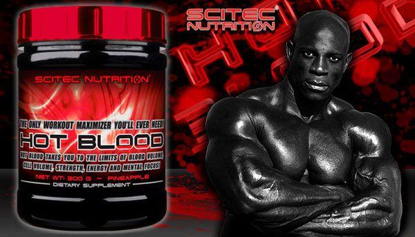 hot blood stimulent de pre-antrenament