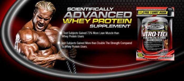 proteine Nitro-Tech Performance