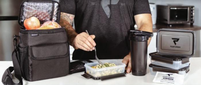 Sportovní taška na jídlo 3 Meal Cooler Bag - Performa