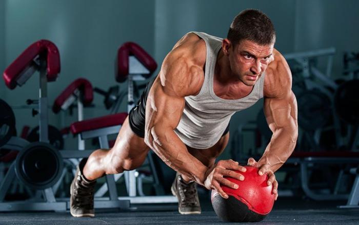 fitness rukavice ronnie gymbeam