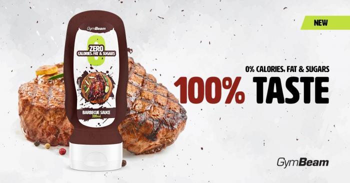 Bezkalorická omáčka BBQ Sauce - gymbeam