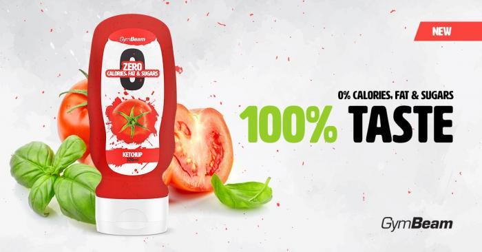 Bezkalorická omáčka Ketchup gymbeam - kečup bez kalórií